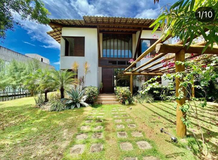 Casa Inteira em Itacimirim 4/4 Completa (com Wifi)