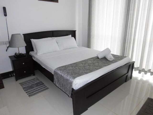 SkyCasa Holiday Apartments-Double bedroom