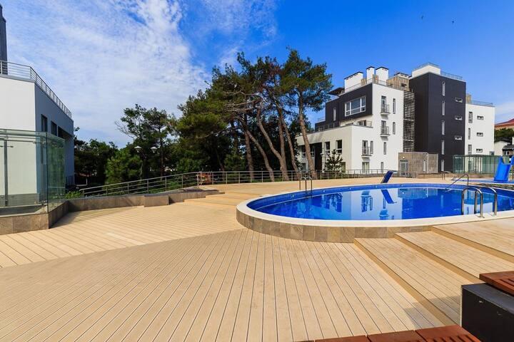 Новые апартаменты на побережье Чёрного моря