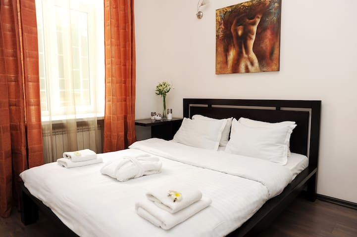 Sincere apartment in the heart of Kiev