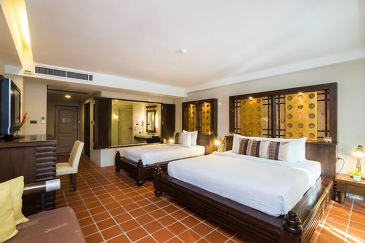 Deluxe Family Room 1 Minute walk to Aonang Beach - Ao Nang - Butikový hotel