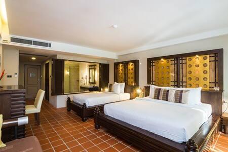Deluxe Family Room 1 Minute walk to Aonang Beach - Ao Nang - Hotel butique