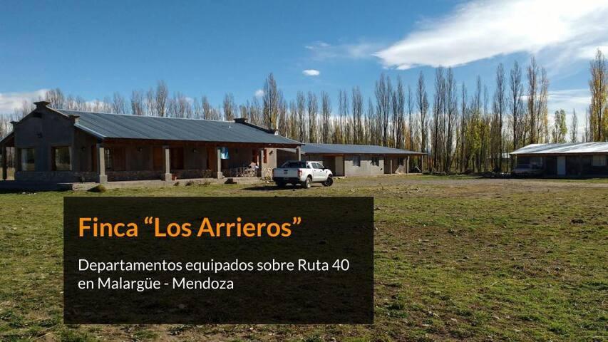 "Dpto. p/ 4 - ""Los Arrieros"" - Malargüe Ruta 40"
