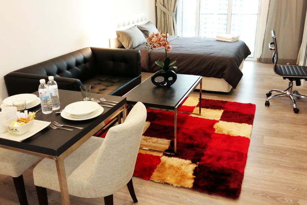 Tastefully furnished and spotless clean