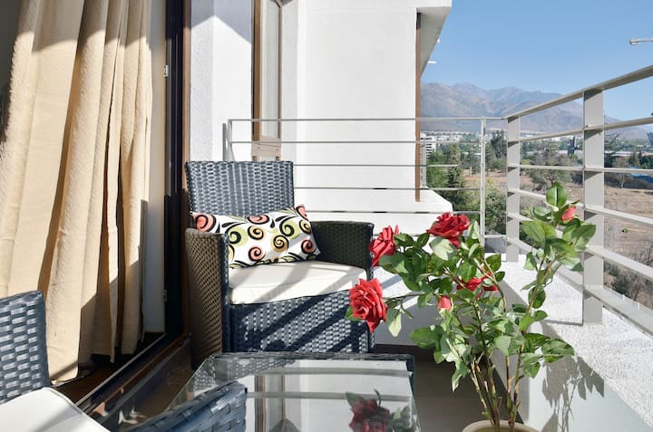 Modern + Lux 2BR Apartment Las Condes/Lo Barnechea