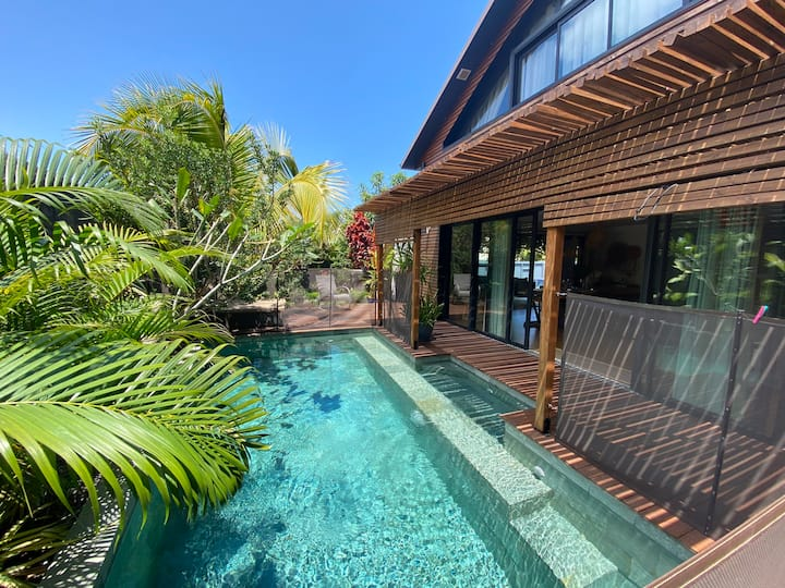 «Ô Ti Bali» villa architecte entre mer et forêt