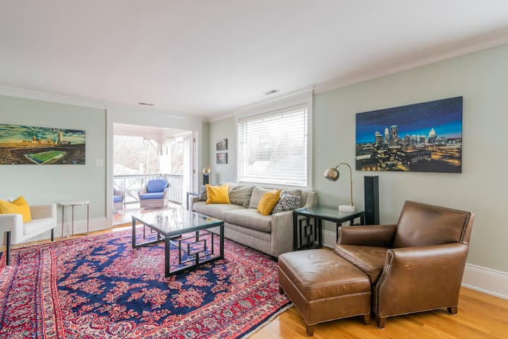 Relaxed, Historic, Southend Condo