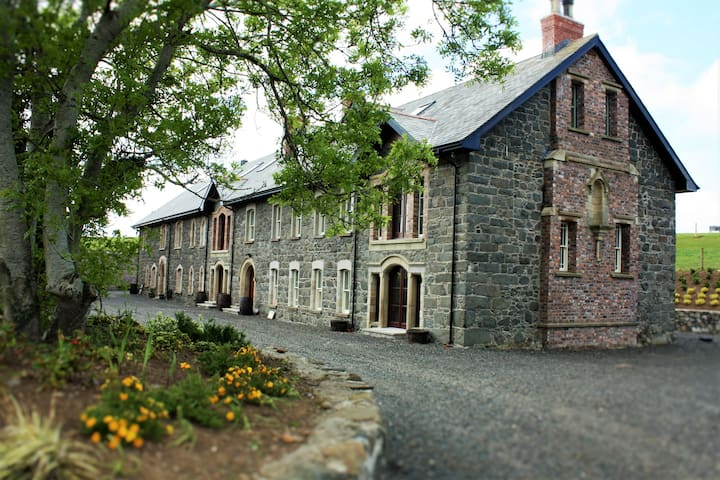 The Old Flax Mill, unique heritage stay, NW coast