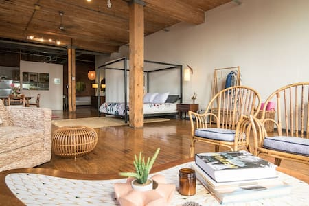 ❤️ Amazing Loft in Detroit's Hippest Neighborhood ❤️ COCOON IN STYLE