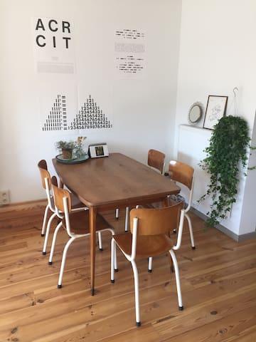 Duplex appartment in city center - Leuven - Apartment