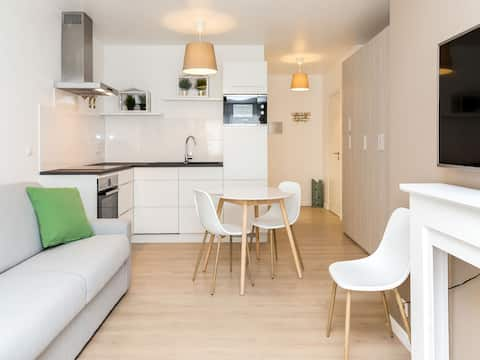 Brussels' European District Studio Apartment eg