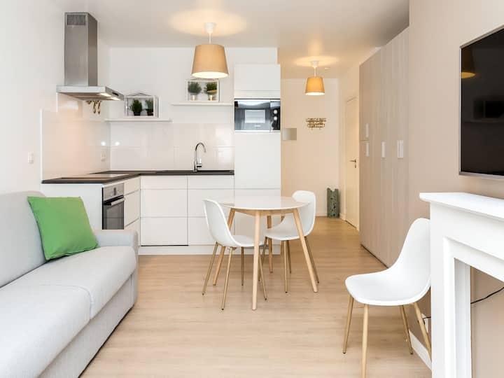 Brussels' European District Studio Apartment eg