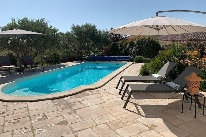 """Occitanie - """"Gard"""" 4 bdrm Villa near Uzes"""