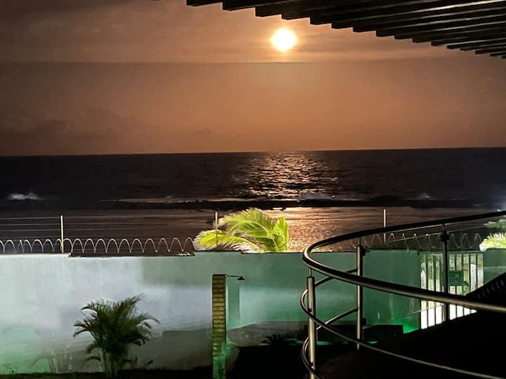 Chalé beira mar , um paraíso no litoral Sul RN