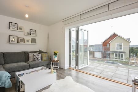 New light & airy Scandi chic w/bath - Tunbridge Wells - Hus