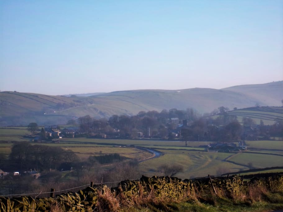 Longnor village, nestled in great countryside