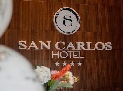 DISFRUTA TU ESTANCIA  HABITACION HOTEL SAN CARLOS