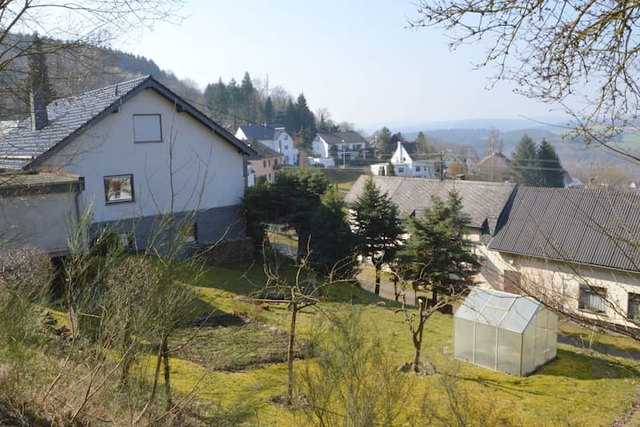 Apartment located on the edge of a forest with a fantastic view