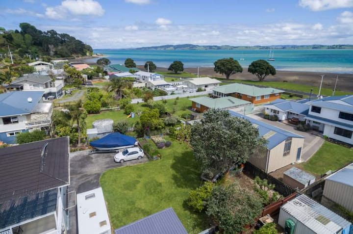 A home away from home, Waikaraka Beach