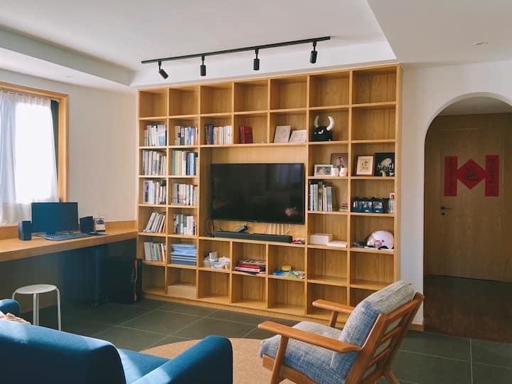 小鸟的巢丨西湖区文一路城景二室二厅设计师自宅设施齐备可停车