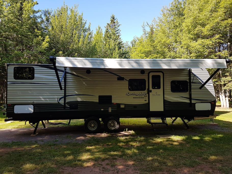 Mill River Campground Rv Rental Campers Rvs For Rent In