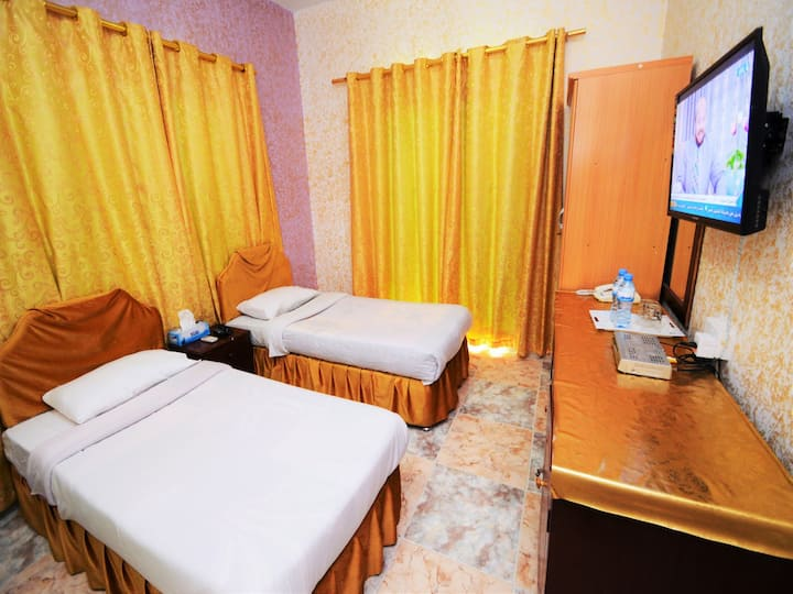 Small  Twin Room in Sur Hotel in Sur Oman