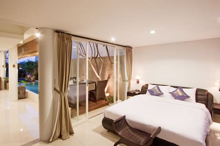 Villa Grace & Milena 3BR, Canggu, 200m to beach - นอร์ธคูตา