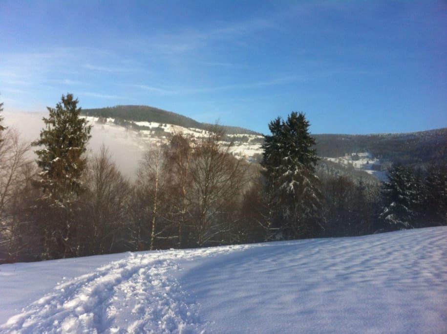 l'hiver un paradis pour les randos