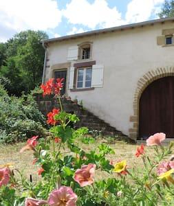 Gîte de Fée; gezellige boerenwoning - Serécourt - บ้าน