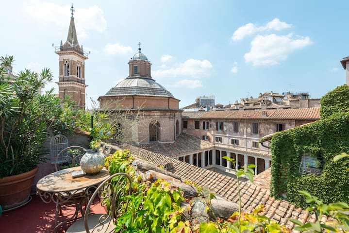 Piazza Navona Luxury Penthouse - Terrace and Wifi