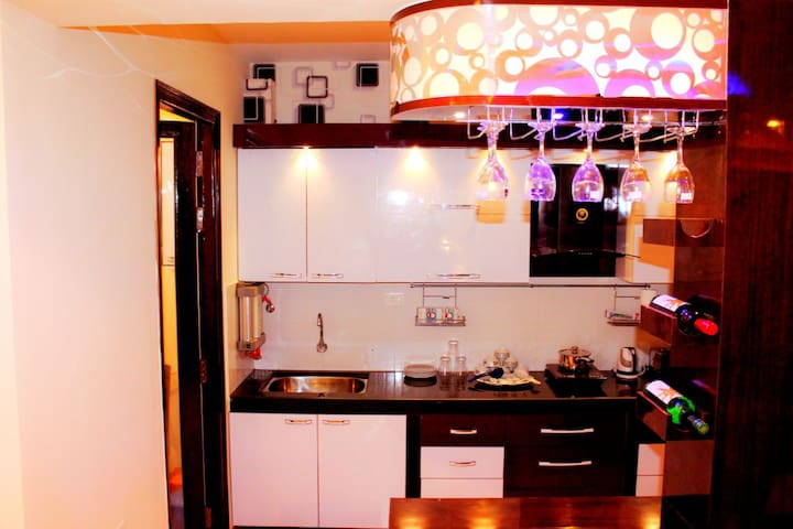 2 BHK Apartment with Pool,  Jacuzzi & Steam Bath