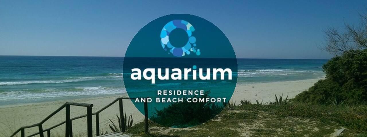 Aquarium B&B 01 Stanza grecale... sul mare