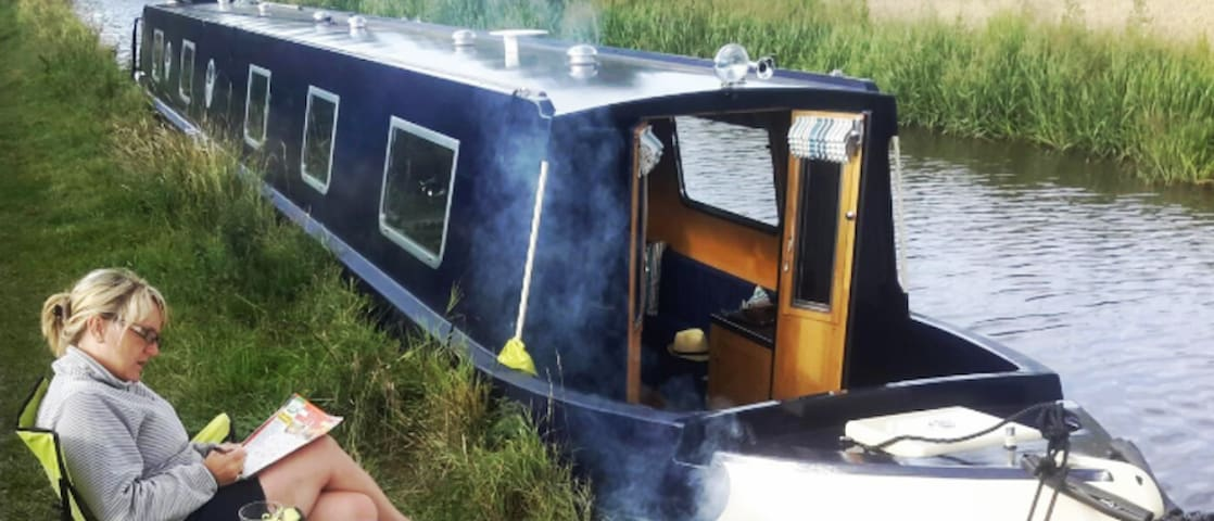 Canal Narrowboat Holiday for up to 8 people