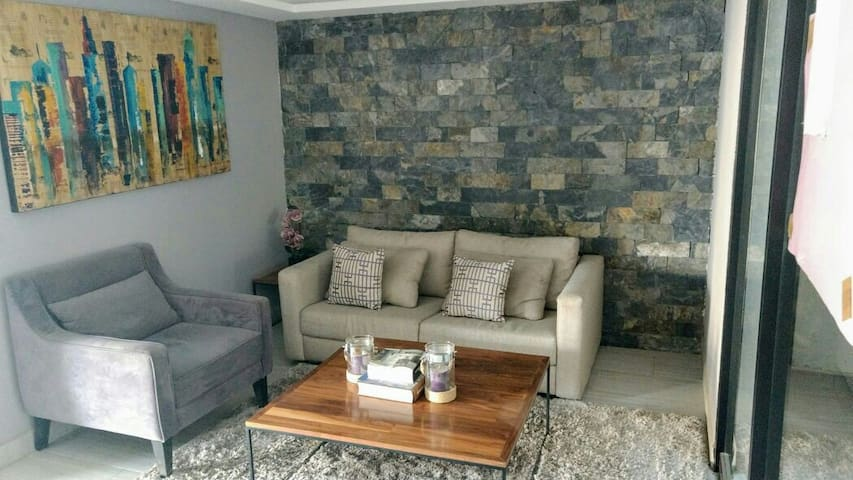 Nice bedroom close to the airport - Ciudad de México - Appartement