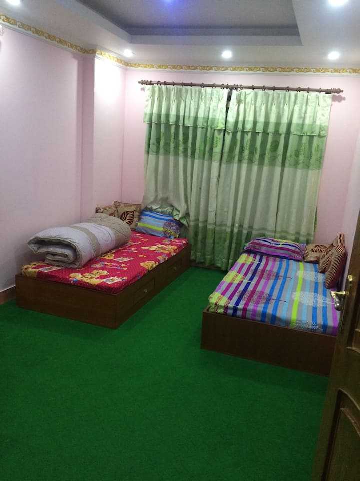 "Home stay ""bed room and breakfast """