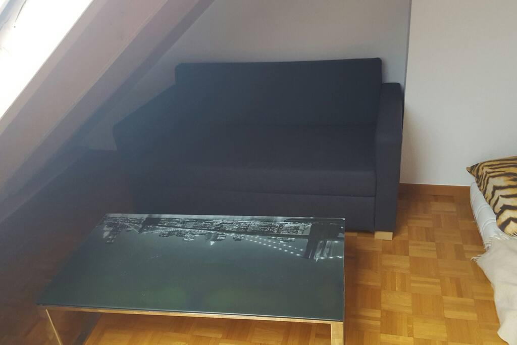 canapé lit 2 place