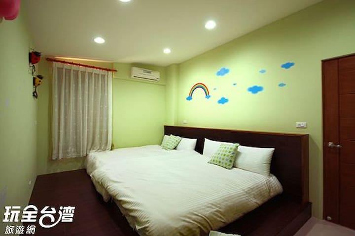 南投集集 山嵐villa花園旅店 Mountain Hotel -- C07 四人房