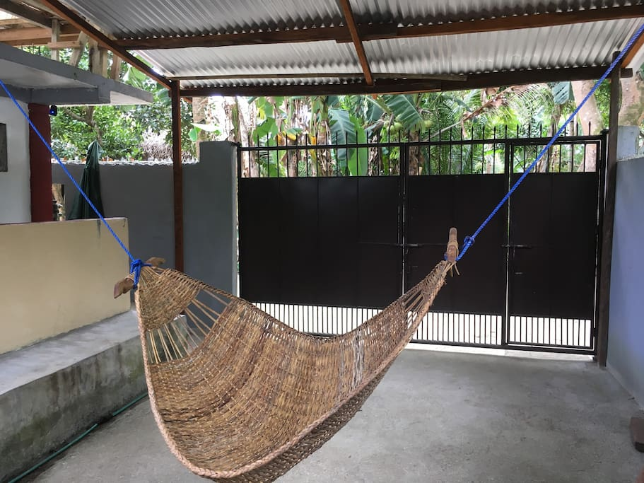 "Hammock ""Duyan"" for your siesta"