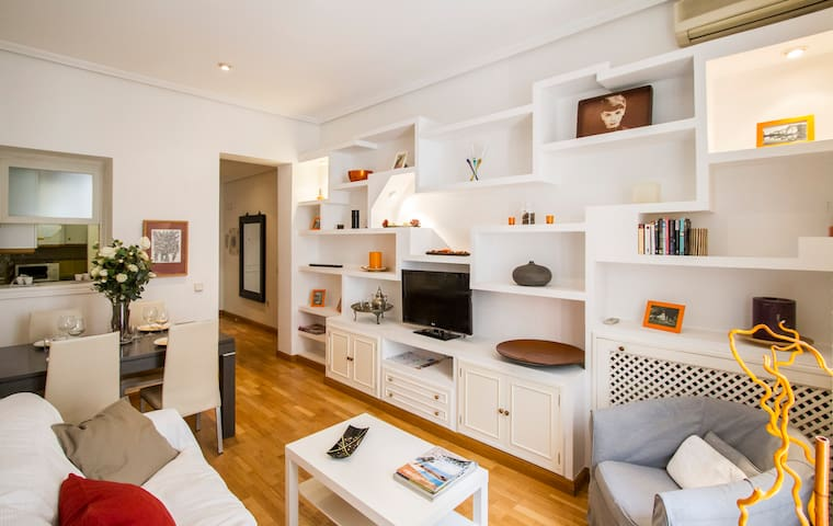 Modern and spacious 300m from Puerta del Sol