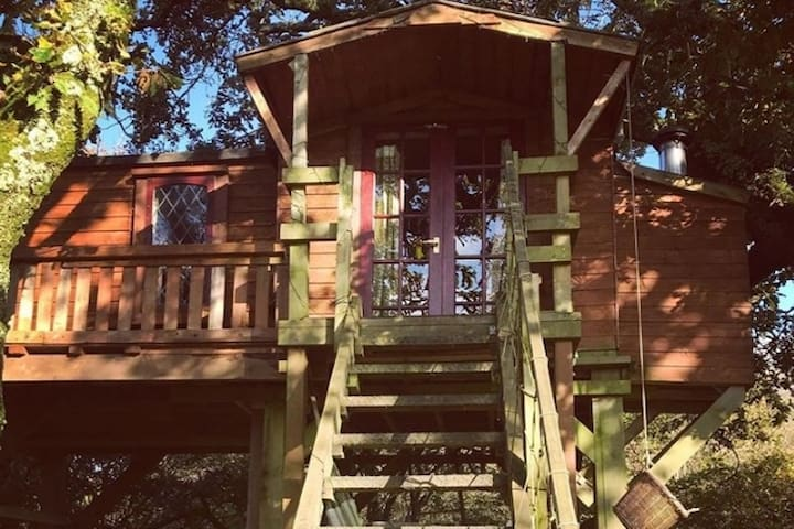 TREE HOUSE at Gin Distillery Green Cart Farm
