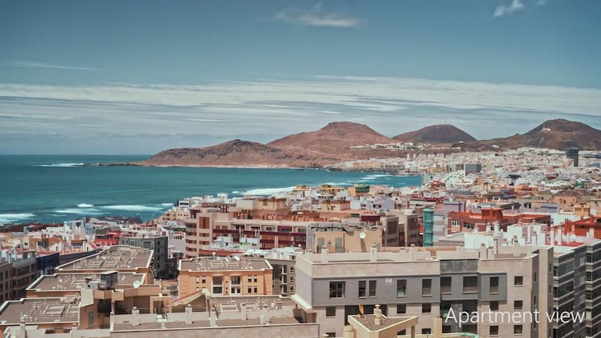 Pokój w apartamencie z niesamowitym widokiem - Las Palmas de Gran Canaria - Apartament