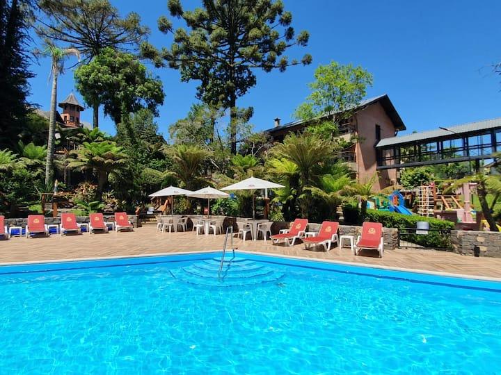 Hotel Recanto da Serra seu recanto natural.