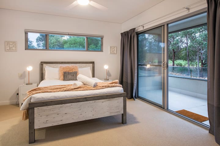 Master bedroom with king bed and private ensuite. Private balcony overlooking Golf Course