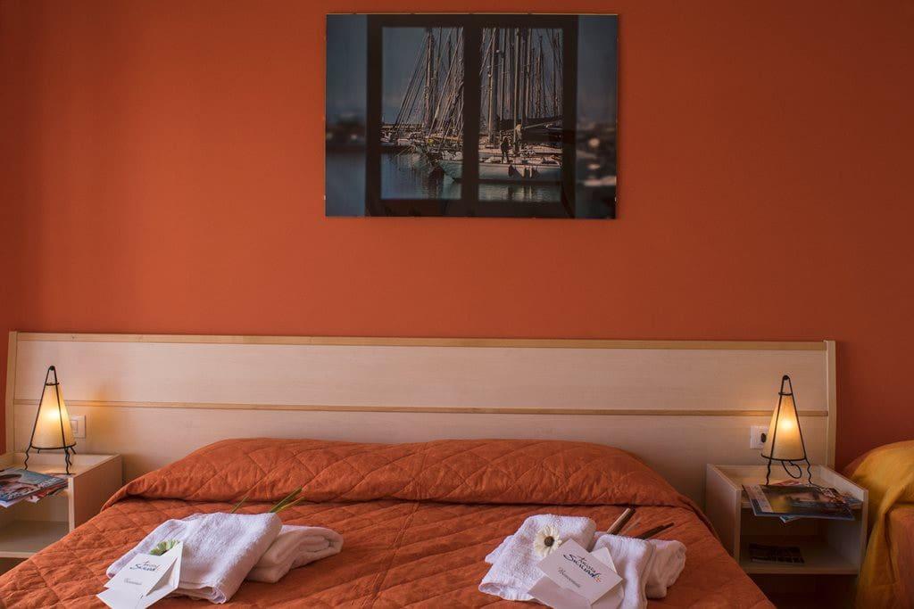 Camera da letto vista 3