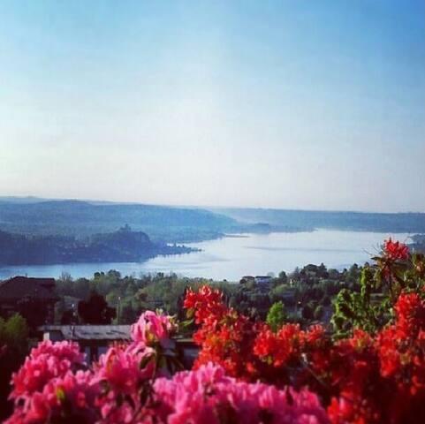 lago maggiore, alto vergante , Nebbiuno - Nebbiuno - Appartement
