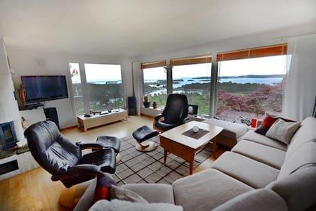 Stor moderne bolig med panoramautsikt på sørlandet - Arendal - Casa