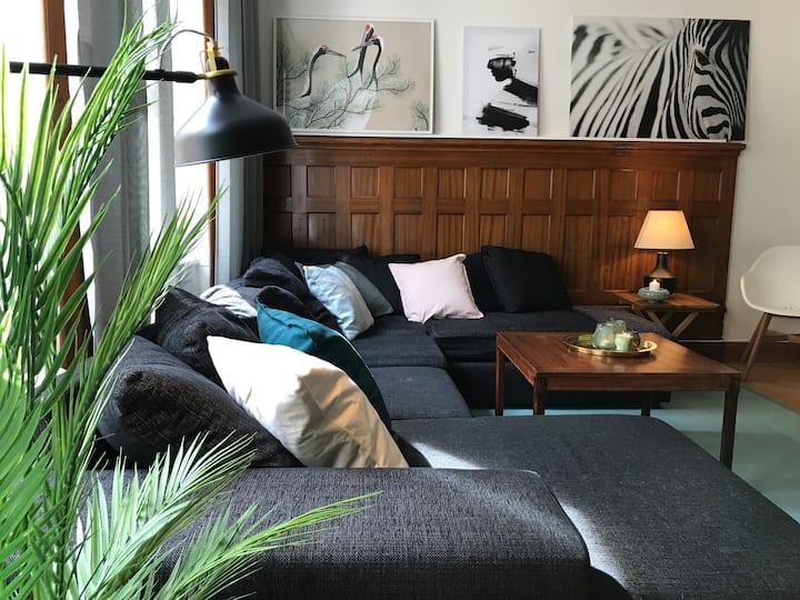 Classic & light 2 room apartment in SoFo, 60 sqm
