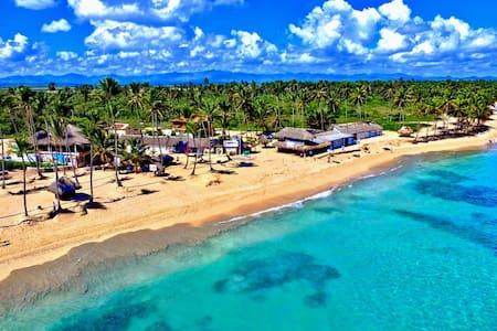 Private Beach Front House Uvero Alto - Punta Cana