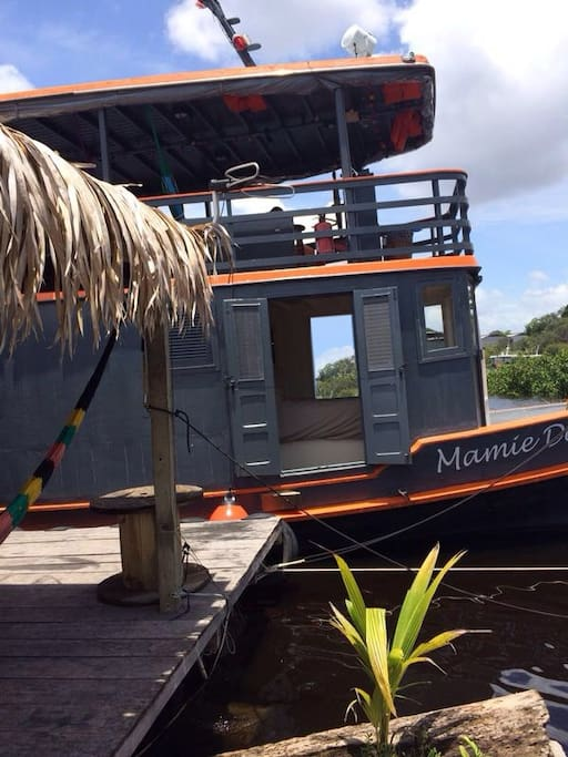 Offer AIRBNB : B&B on moored Boat @ Manaus