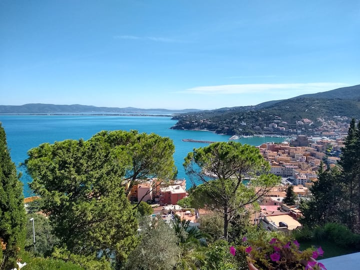 Stunning Porto Santo Stefano house with sea view